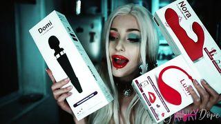 Mykinkydope - Harley Quinn ASMR 2019 - HD 720p