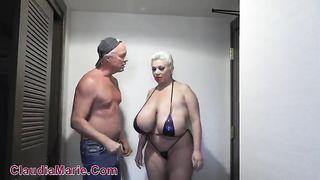 ClaudiaMarie - Big Tit Bikini Fucking 2019 - SD 480p