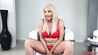 Chery Leigh - Mature Solo Video - 60 years old - SD 480p