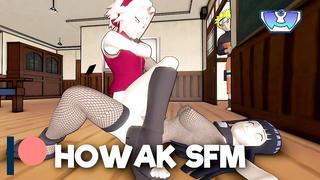 Naruto Porn - Hinata And Sakura lesbian Fighting - HD 720p
