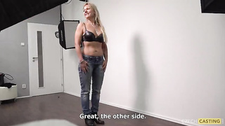 Czech mature casting - Radka 5190 - English Subtitles