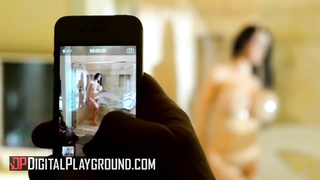 Son spying for stepmom in the shower - Amy Anderssen, Michael Vegas - Digital Playground - HD 720p