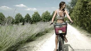 21 romantic sex in public garden - Amirah Adara - HD 1080p