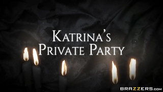 Katrina's Private Party, Katrina Jade, Small Hands & Xander Corvus