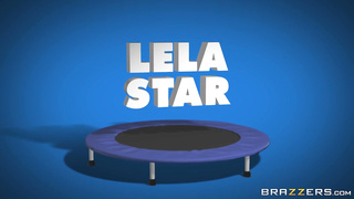 Lela Star, Keiran Lee, The Trampoline Tramp Brazzers (2019) HD 720p