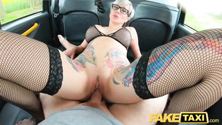 Tanya Virago, British Big Tits Pornstar Fucked In The Taxi Cab, Fake Taxi 2019 HD
