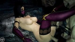Mortal Kombat Mileena Porn Compilation
