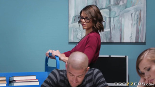 The Lusting Librarian (2019) Adriana Chechik And Xander Corvus HD 720p