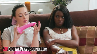 Digital Playground - Ebony Babe Anna Foxx gets Broken in by Abella Danger - Abella Danger, Anna Foxxx