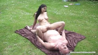 70 years man fucks young 18 years girl Ava Black 2019