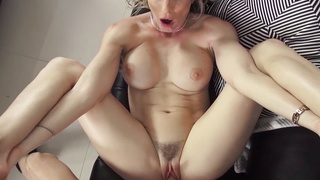 Drunken MILF stepmom fucks nerdy stepson