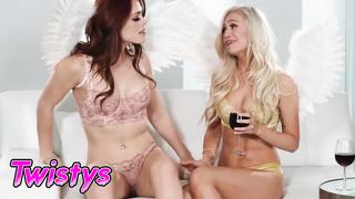 Twistys - 2 angels lesbians - Lyra Law, Molly Stewart