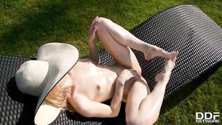 Sexy feet fetish solo Alecia Fox 2019