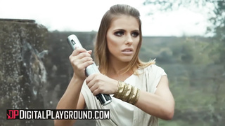 Digital Playground - DP Threesome Star Wars A XXX Porn Parody - Adriana Chechik, Tony De Sergio, Xander Corvus