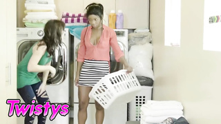 Twistys - Ebony Lesbian Mya Mays Eats out MILF Alana Cruise