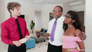 Daddy's Perfect Darling, Daizy Cooper Brazzers First Scene!