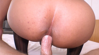 Curvy ladyboy hottie blowjob and anal