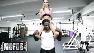 MOFOS - Hime Marie interracial sex after workout