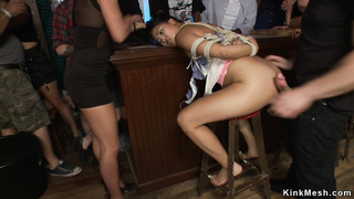 Asian slave public disgrace fucked