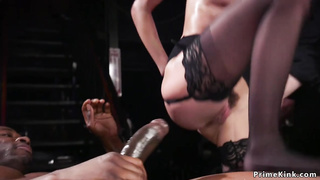Hot submissive babes interracial orgy fucking
