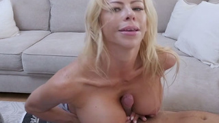 My neglected mature stepmother fucks me