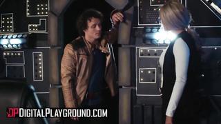Digital Playground - Thicc Blonde Fucked in StarWars Xxx porn Parody - Athena Palomino - HD 720p