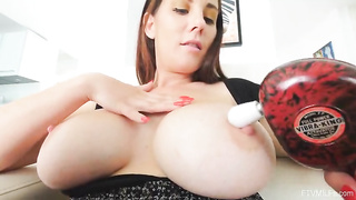 Lilian Big Tits Solo with Sex Toys