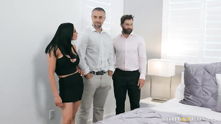 Brazzers - Unfinished Business (2019) Audrey Bitoni, Keiran Lee