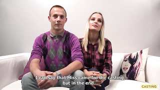 Casting porn 2019 - Natalie, Vaclav