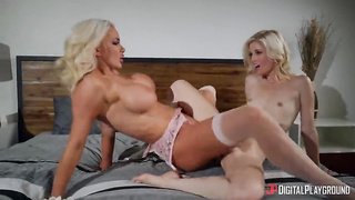 Parallel Lust: Episode 2 - Nicolette Shea, Charlotte Stokley