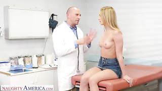 American family doctor fucks young patient -  Daisy Stone