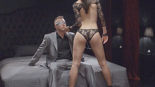 Sexy MILF likes to dominate her hung guy
