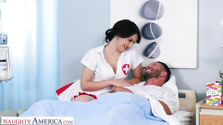 Shock! Sexy nurse fucked married patient in American clinic (2019) - Valentina Nappi - SD 480p