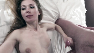 Alexa Bi - The very first MMF Threesome for the Hot Blonde with Double Penetration!