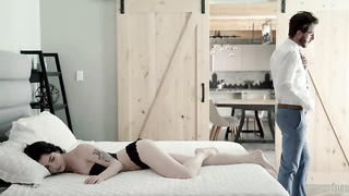 Cute girl make good morning sex - Evelyn Claire