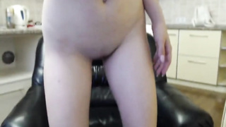 horny 18yo stepsister spreads her ass for you