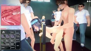 Japanese School Girl Gangbang - Sex Game Gameplay