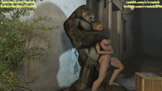 Gorilla Monster Sex 1