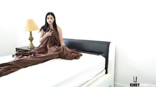 Kinky Family - Video Glasses Stepsis Fuck - Violet Rain - HD 720p