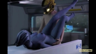Liara Alien Sex SFM Mass Effect