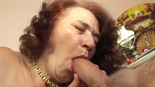 chubby granny fucked by her hairdresser