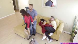 Family Flciks - Gina Valentina, Kimmy Granger, Michelle Martinez, Veronica Rodriguez