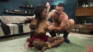 Ebony BDSM porn free porn video