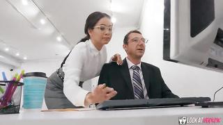 Look At Her Now - Secretary Side Job (2019) Aaliyah Hadid