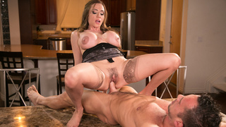 Busty wife is fucked rough for cheating