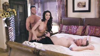 Sex with dad`s wife - Silvia Saige