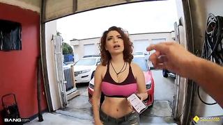 Garage sex Annabel Redd