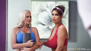 Brazzers, MLIB - Breathe In, Stretched Out (2019) Ricky Johnson, Alena Croft, Bridgette B - SD 480p