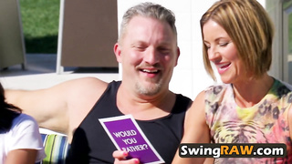 A big party with swingers always will be