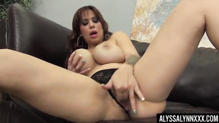 Pornstar milf masturbation video big tits